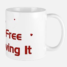 Child-Free Loving It Mug