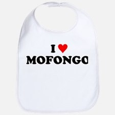 I Love Mofongo Bib