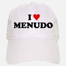 I Love Menudo Baseball Baseball Cap