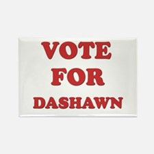 Vote for DASHAWN Rectangle Magnet