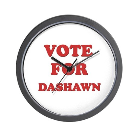Vote for DASHAWN Wall Clock