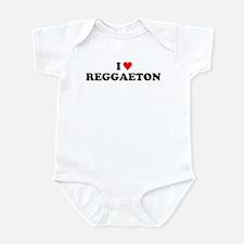 I love Reggaeton Infant Bodysuit
