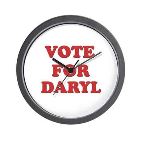 Vote for DARYL Wall Clock