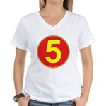 Mach 5 Women's V-Neck T-Shirt