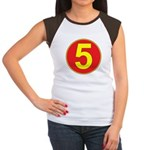 Mach 5 Women's Cap Sleeve T-Shirt