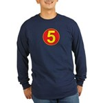 Mach 5 Long Sleeve Dark T-Shirt