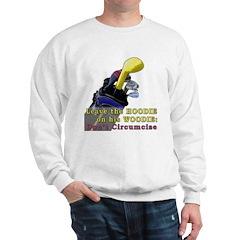 Woodie-Hoodie Sweatshirt