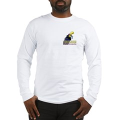 Woodie-Hoodie Pocket Long Sleeve T-Shirt