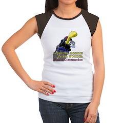 Woodie-Hoodie Women's Cap Sleeve T-Shirt