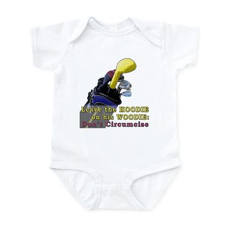 Woodie-Hoodie Infant Bodysuit