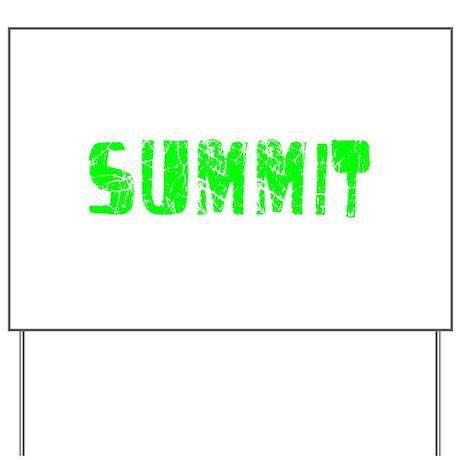 Summit Faded (Green) Yard Sign