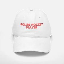 Retro Roller Hock.. (Red) Baseball Baseball Cap