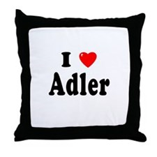 ADLER Throw Pillow