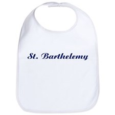 Classic St. Barthelemy (Blue) Bib