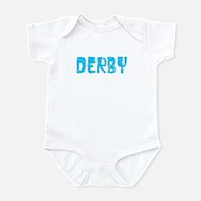 Derby Faded (Blue) Infant Bodysuit