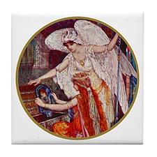 DESTINY'S ANGEL Tile Coaster