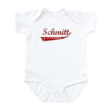Schmitt (red vintage) Infant Bodysuit