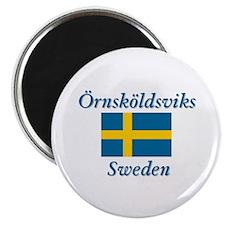 Ornskoldsviks Sweden Magnet