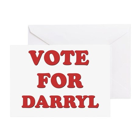 Vote for DARRYL Greeting Card