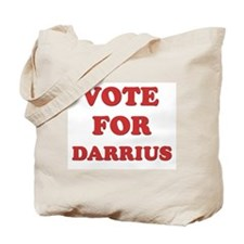 Vote for DARRIUS Tote Bag