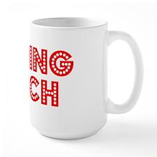 Retro Running Coach (Red) Mug