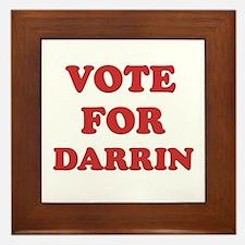 Vote for DARRIN Framed Tile