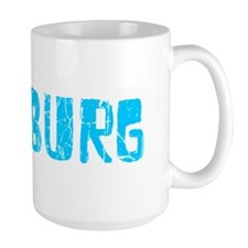 Duisburg Faded (Blue) Mug