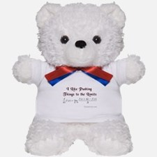 Push The Limits Teddy Bear