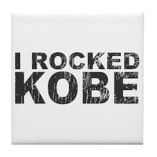 I Rocked Kobe Tile Coaster