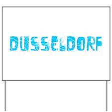 Dusseldorf Faded (Blue) Yard Sign