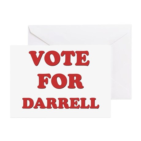 Vote for DARRELL Greeting Cards (Pk of 20)