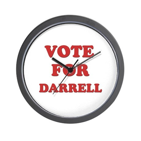 Vote for DARRELL Wall Clock