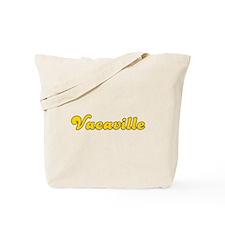 Retro Vacaville (Gold) Tote Bag