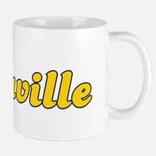 Retro Vacaville (Gold) Mug