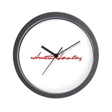 Austin Healey Script Wall Clock