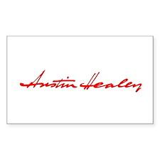 Austin Healey Script Rectangle Decal