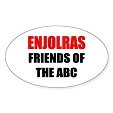 Enjolras Oval Decal