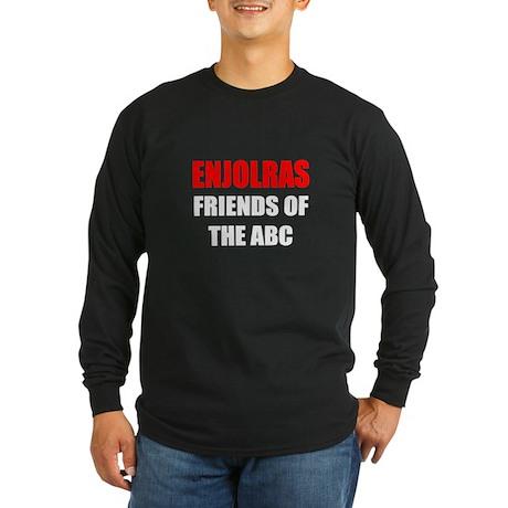 Enjolras Long Sleeve Dark T-Shirt