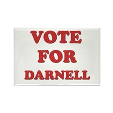 Vote for DARNELL Rectangle Magnet