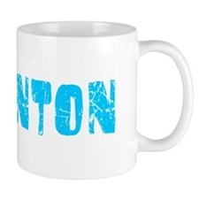 Edmonton Faded (Blue) Small Mugs