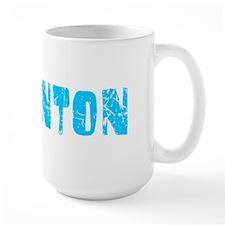 Edmonton Faded (Blue) Ceramic Mugs