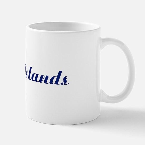 Classic Cayman Islands (Blue) Mug