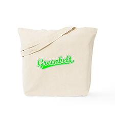 Retro Greenbelt (Green) Tote Bag