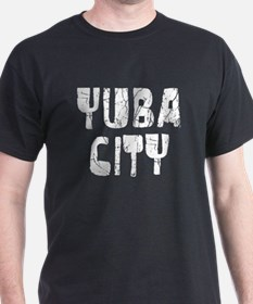 Yuba City Faded (Silver) T-Shirt