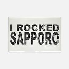 I Rocked Sapporo Rectangle Magnet