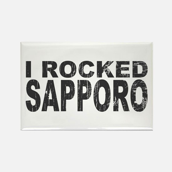 I Rocked Sapporo Rectangle Magnet