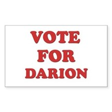 Vote for DARION Rectangle Decal