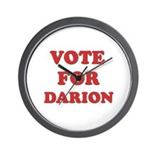 Vote for DARION Wall Clock