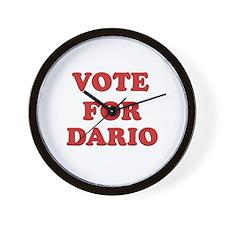 Vote for DARIO Wall Clock