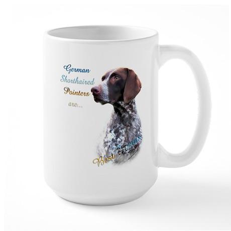 GSP Best Friend1 Large Mug